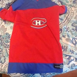 Montreal canadians m/l dog jersey